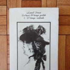 Libros de segunda mano: MARCEL PROUST - EN BUSCA DEL TIEMPO PERDIDO - 7. EL TIEMPO RECOBRADO. Lote 210677206