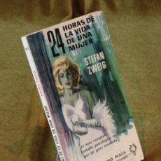 Libros de segunda mano: 24 HORAS DE LA VIDA DE UNA MUJER,STEFAN ZWEIG,EDICIONES G.P. 1963.. Lote 210775802