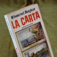 Libros de segunda mano: LA CARTA,W,SOMERSET MAUGHAM,EDICIONES G.P. 1956.. Lote 210776254