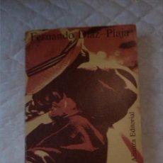Libros de segunda mano: EL ESPAÑOL Y LOS SIETE PECADOS CAPITALES. FERNANDO DÍAZ-PLAJA. ALIANZA EDITORIAL. 1973.. Lote 210799472