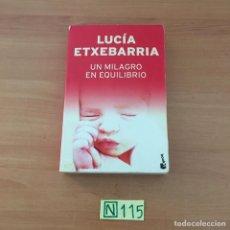 Libros de segunda mano: UN MILAGRO EN EQUILIBRIO. Lote 210801142
