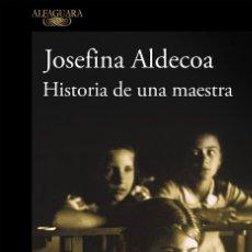 Libros de segunda mano: HISTORIA DE UNA MAESTRA. Lote 210839350