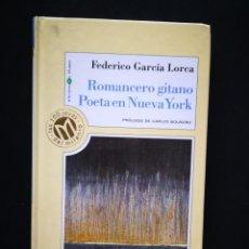 Livros em segunda mão: ROMANCERO GITANO POETA EN NUEVA YORK. FEDERICO GARCIA LORCA. Lote 210956871