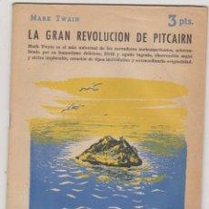 Libros de segunda mano: REVISTA LITERARIA Nº 1422. MARK TWAIN. LA GRAN REVOLUCIÓN DE PITCAIRN. AÑO 1958. Lote 210960030