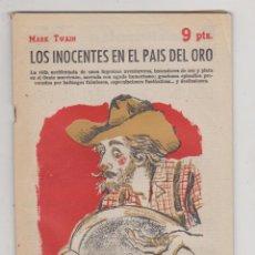 Libros de segunda mano: REVISTA LITERARIA Nº 1758. MARK TWAIN. LOS INOCENTES EN EL PAÍS DEL ORO. AÑO 1963. Lote 210960255