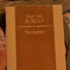 Livres d'occasion: FICCIONES JORGE LUIS BORGES. Lote 211608674