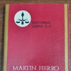 Livres d'occasion: 37477 - MARTIN FIERRO - Nº 82 - POR JOSE HERNANDEZ - COL PURPURA - EDITORIAL LIBRA - AÑO 1971. Lote 211638252