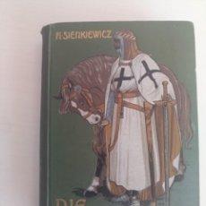 Libros de segunda mano: ANTIGUO LIBRO CRUZADOS TEMPLARIOS ÓRDENES MILITARES. Lote 211640936