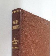 Libros de segunda mano: EL SEMENTAL NEGRO. SATANAEL. - SALVADOR DE MADARIAGA. ESPASA CALPE. 1977. TDK436. Lote 211698140