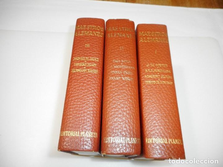 Libros de segunda mano: VV.AA Maestros Alemanes (3 tomos ) Q1993T - Foto 2 - 211876401