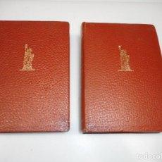 Libros de segunda mano: VV.AA MAESTROS NORTEAMERICANOS (2 TOMOS SUELTOS) Q1995T. Lote 211876690