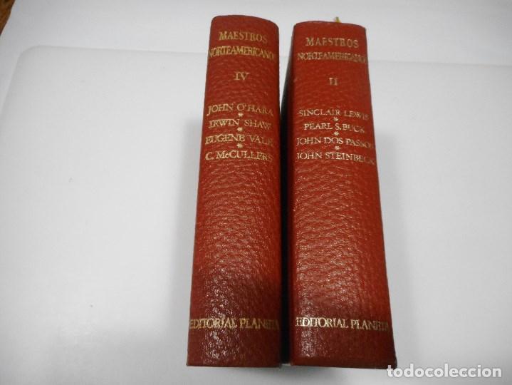 Libros de segunda mano: VV.AA Maestros Norteamericanos (2 Tomos sueltos) Q1995T - Foto 2 - 211876690