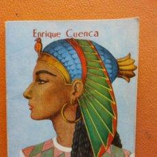 Libri di seconda mano: CLEOPATRA. ENRIQUE CUENCA. EDICIONES G.P. BARCELONA. ENCICLOPEDIA PULGA. Lote 211984325