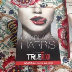 Libros de segunda mano: COLECCIÓN TRUE BLOOD 5 LIBROS CHARLAINE HARRIS. Lote 212466182