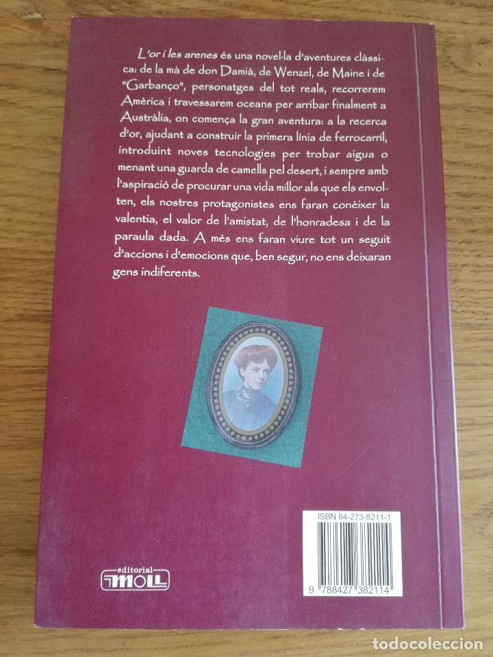 Libros de segunda mano: LOR I LES ARENES (CRISTÒFOL CARRIÓ I VILLALONGA) - Foto 4 - 213075615