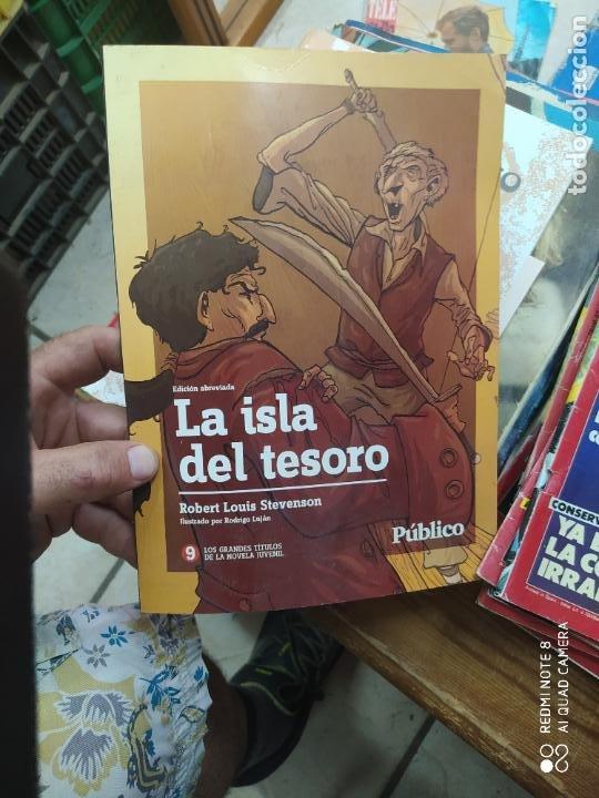 LA ISLA DEL TESORO, R. L. STEVENSON. REV-214 (Libros de Segunda Mano (posteriores a 1936) - Literatura - Narrativa - Otros)