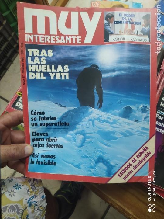 REVISTA MUY INTERESANTE Nº 57, FEBRERO 1986. REV-217 (Libros de Segunda Mano (posteriores a 1936) - Literatura - Narrativa - Otros)