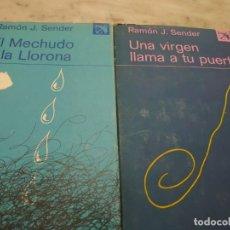 Libros de segunda mano: PRPM 52 RAMÓN J. SENDER EL MECHUDO Y LA LLORONA Y UNA VIRGEN LLAMA A TU PUERTA. Lote 213335175