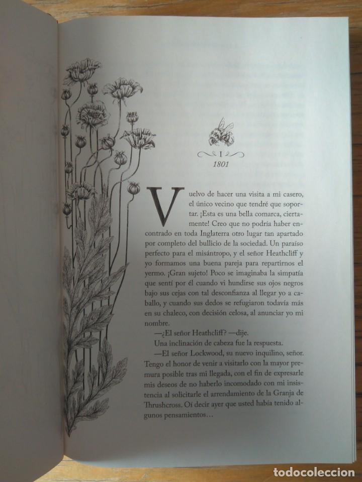 Libros de segunda mano: Cumbres borrascosas - Emily Brontë - Edición coleccionista - Foto 2 - 213525790