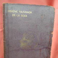 Libros de segunda mano: HIGIENE RAZONADA DE LA BOCA, JOSE BONIQUET. L.2604-1112. Lote 213647640