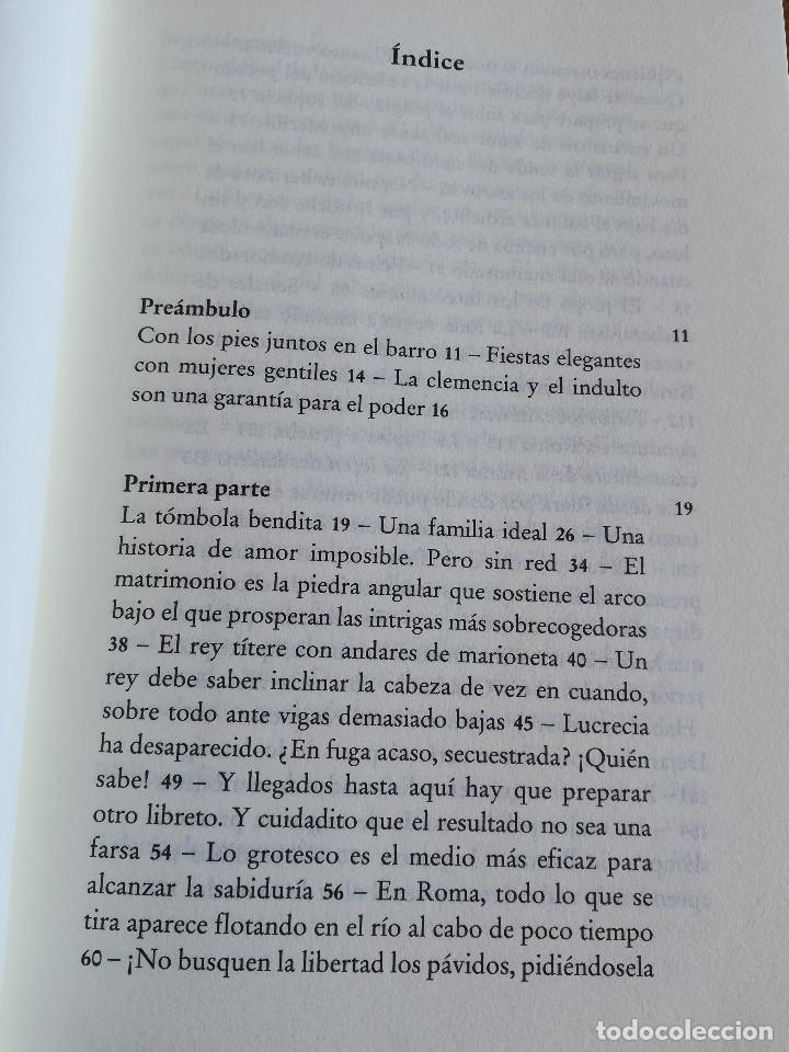 Libros de segunda mano: LUCRECIA BORGIA, LA HIJA DEL PAPA (DARIO FO) - Foto 3 - 213701297