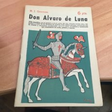 Libros de segunda mano: NOVELAS Y CUENTOS 1533 DON ALVARO DE LUNA (QUINTANA) (COIB123). Lote 213730861