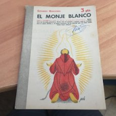 Libros de segunda mano: NOVELAS Y CUENTOS 1192 EL MONJE BLANCO (EDUARDO MARQUINA) (COIB123). Lote 213732556