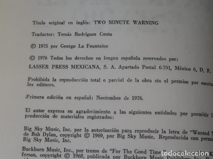 Libros de segunda mano: Panico en el estadio - George LaFontaine - Lasser Press Mexicana - 1ª edición (1976) - Foto 2 - 213758455