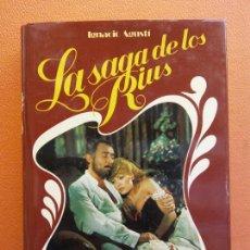 Libros de segunda mano: EL VIUDO RIUS. LA SAGA DE LOS RIUS Nº 2. IGNACIO AGUSTÍ. EDITORIAL PLANETA. Lote 213890943