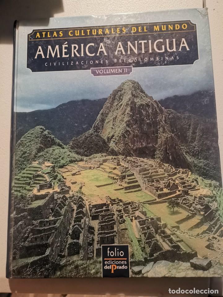 ATLAS CULTURALES DEL MUNDO - AMÉRICA ANTIGUA CIVILIZACIONES PRECOLOMBINAS VOLUMEN II - SNOW Y BENSON (Libros de Segunda Mano (posteriores a 1936) - Literatura - Narrativa - Otros)