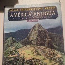 Libros de segunda mano: ATLAS CULTURALES DEL MUNDO - AMÉRICA ANTIGUA CIVILIZACIONES PRECOLOMBINAS VOLUMEN II - SNOW Y BENSON. Lote 213989481