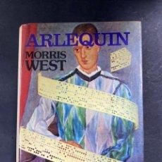Libros de segunda mano: ARLEQUIN. MORRIS WEST. EDITORIAL POMAIRE. NEW YORK, 1974. PAGS: 380. Lote 214073453