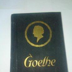 Libros de segunda mano: GOETHE - HISTORIA DE UN HOMBRE - EMIL LUDWIG. Lote 214823023