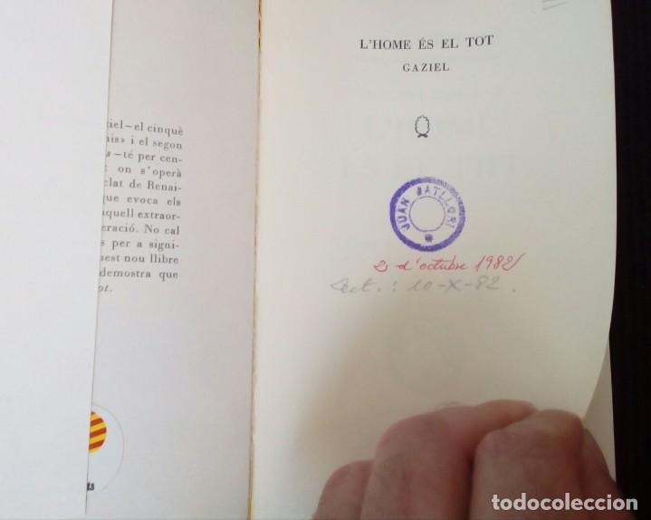 Libros de segunda mano: LHOME ES EL TOT. FLORENCIA CURA DAIRES ** EDITORIAL SELECTA PRIMERA EDICIÓ 1962. - Foto 2 - 214914226