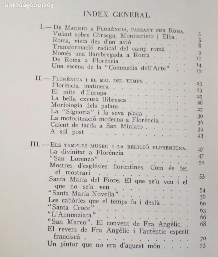 Libros de segunda mano: LHOME ES EL TOT. FLORENCIA CURA DAIRES ** EDITORIAL SELECTA PRIMERA EDICIÓ 1962. - Foto 5 - 214914226