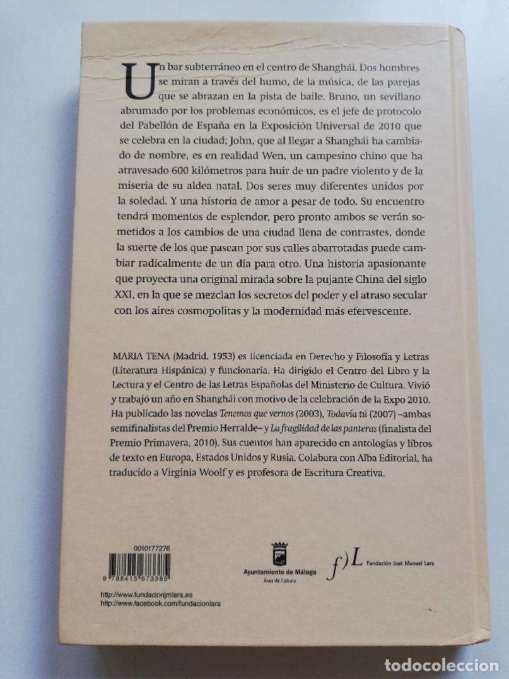 Libros de segunda mano: EL NOVIO CHINO (MARÍA TENA) - Foto 5 - 215008127