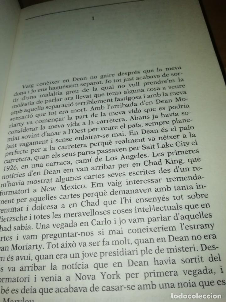 Libros de segunda mano: JACK KEROUAC - A LA CARRETERA - MANUEL DE SEABRA - ED. 62 1996 - PEP TRUJILLO - Foto 4 - 215058541