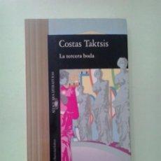 Libri di seconda mano: LMV - LA TERCERA BODA. COSTAS TAKTSIS. Lote 215146633