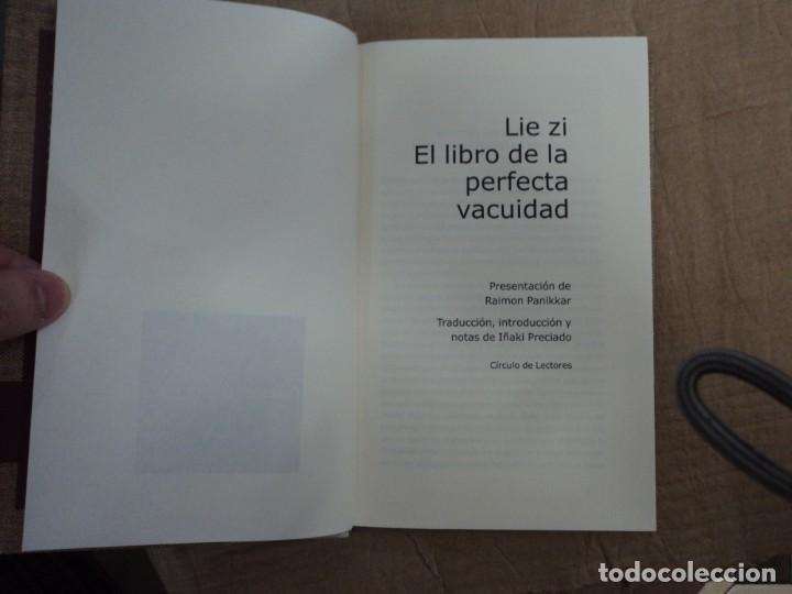 Libros de segunda mano: El libro de la perfecta vacuidad - LIe zi - Edición de Iñaki Preciado - Foto 2 - 215251518