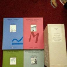 Libros de segunda mano: JOSÉ DEL RÍO SAINZ, JUAN DE HERRERA, HERMILIO ALCALDE DEL RÍO, ENRIQUE D. MADRAZO. Lote 215470248