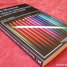 Libros de segunda mano: LOS AÑOS DE PEREGRINACIÓN DEL CHICO SIN COLOR. HARUKI MURAKAMI. COLECCIÓN ANDANZAS TUSQUETS. Lote 215730987