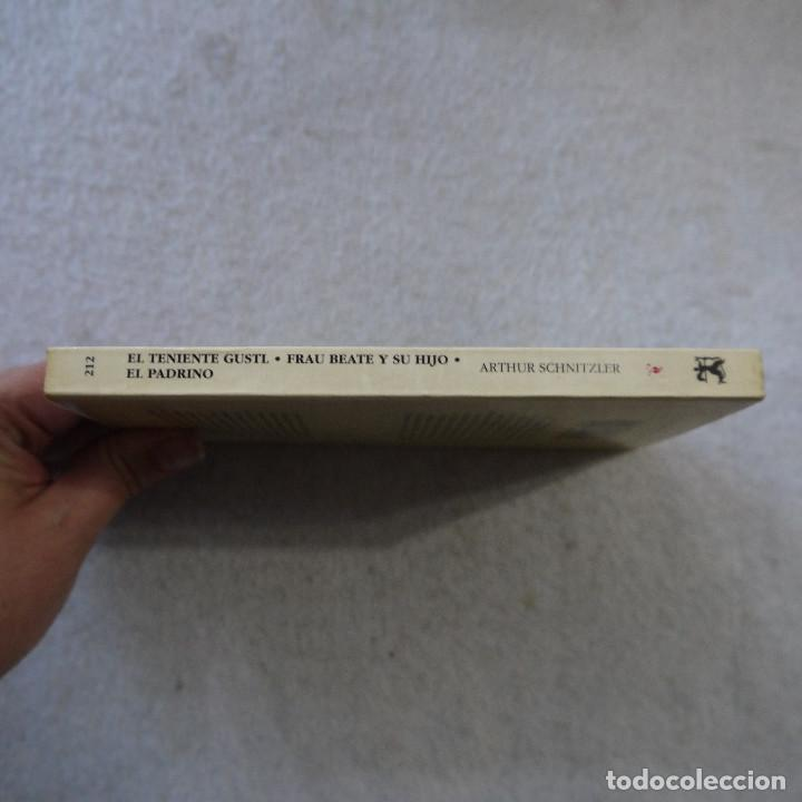 Libros de segunda mano: EL TENIENTE GUSTL / FRAU BEAUTE Y SU HIJO / EL PADRINO - ARTHUR SCHNITZLER - CÁTEDRA - 1995 - Foto 3 - 216018863