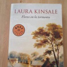 Libros de segunda mano: FLORES EN LA TORMENTA (LAURA KINSALE). Lote 216792113