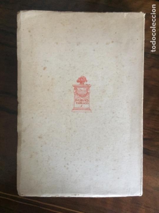 Libros de segunda mano: Libro bibliofilia numerado. Bibliografia Manuel de Montoliu. Federico Torres Brull. Tarragona 1951. - Foto 5 - 216903840