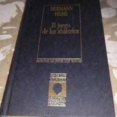Libros de segunda mano: HERMANN HESSE. EL JUEGO DE LOS ABALORIOS. BIBLIOTECA BORGES. ORBIS. Lote 216940445