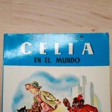 Libros de segunda mano: CELIA EN EL MUNDO. ELENA FORTÚN. Lote 217059755