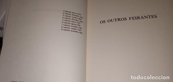 Libros de segunda mano: Os outros feirantes Álvaro Cunqueiro Editorial Galaxia - Foto 3 - 217166282