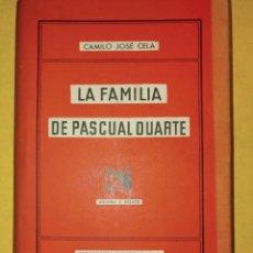 Libros de segunda mano: LA FAMILIA DE PASCUAL DUARTE, DESTINO, PYMYB16. Lote 217260851