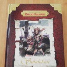 Libros de segunda mano: SANDOKAN (EMILIO SALGARI) COLECCIÓN AVENTURAS DE EMILIO SALGARI. Lote 217445913