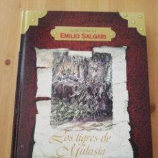 Libros de segunda mano: LOS TIGRES DE MALASIA (EMILIO SALGARI) COLECCIÓN AVENTURAS DE EMILIO SALGARI. Lote 217445982